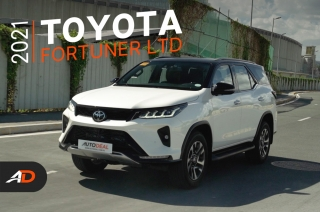 2021 Toyota Fortuner 2.8 LTD Diesel 4x4 AT Review - Behind the Wheel