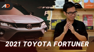 2021 Toyota Fortuner Launched in the Philippines - Behind a Desk
