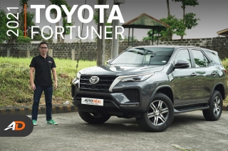 2021 Toyota Fortuner Review - Behind the Wheel