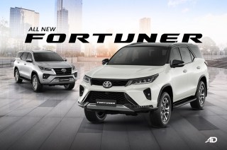 2021 Toyota Fortuner twins