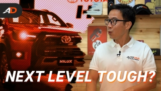 2021 Toyota Hilux Launches in the Philippines - Behind a Desk