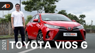 2021 Toyota Vios G Review - Behind the Wheel