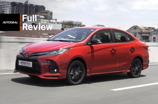2021 Toyota Vios GR-S Red Philippines