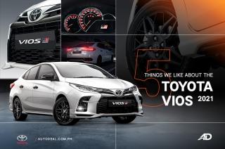 2021 Toyota Vios key features