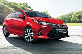 2021 Toyota Yaris facelift malaysia