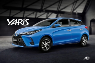 2021 Toyota Yaris hatchback