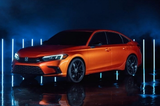 2022 Honda Civic 11th generation prototype