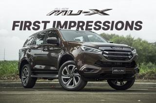 2022 Isuzu mu-X First Impressions