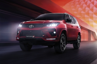 2022 Toyota Fortuner GR Sport made its Thailand debut