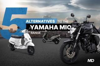 5 alternatives to the Yamaha Mio range