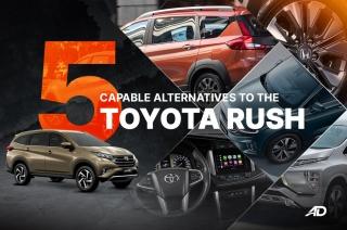 5 capable alternatives to the Toyota Rush