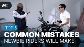 5 Common Mistakes Beginner Riders Make