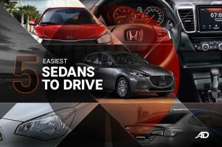 5 Easiest Sedans to Drive