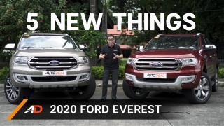 5 New Things in the 2020 Ford Everest Philippines