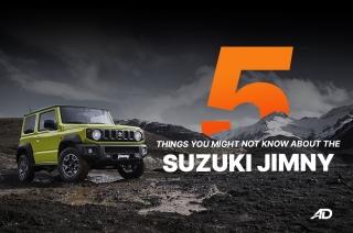 5 Things about the Suzuki Jimny
