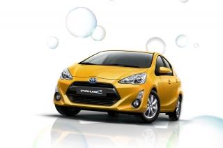 Toyota Motor Philippines unveils latest Prius C hybrid