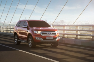 We check out Ford's Philippine-bound all-new Everest in Bangkok