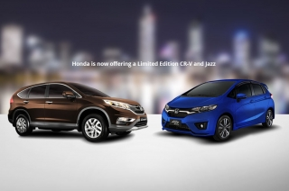 Honda Ph builds Limited Edition models of the CR-V and Jazz in special colors