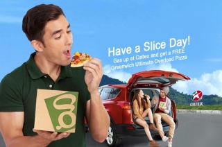 Satisfy your pizza cravings with Caltex' Have a Slice Day promo