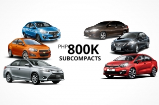 5 best-value subcompacts for around P800K to replace your old car