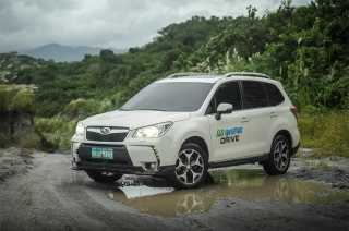Best of both worlds; Subaru proves that the Forester XT can be tough and fuel-efficient