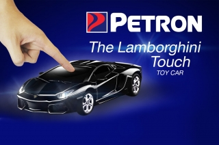 Get a touch-activated Lamborghini toy car when you fuel up at Petron