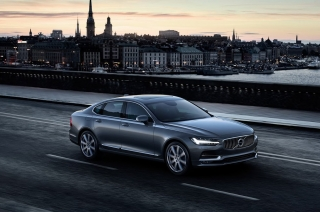 Volvo debuts the all-new 2017 S90 luxury sedan