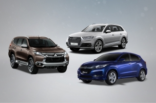 Audi Q7, Honda HR-V, and Mitsubishi Montero Sport receive 5 star safety rating from ANCAP