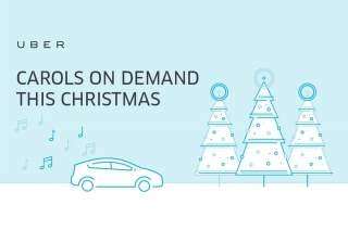 Uber Ph gives their app users a Holiday musical feat through UberCAROLS