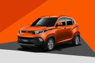 Mahindra unveils the tiniest SUV on their model range – the KUV100