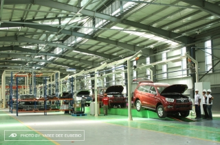 FOTON inaugurates its 11-hectar assembly plant at Clark, Pampanga