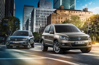 Take a look at the new and premium Volkswagen Tiguan Business Edition