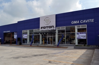 FOTON Ph awards Cavite showroom as Dealer of the Year