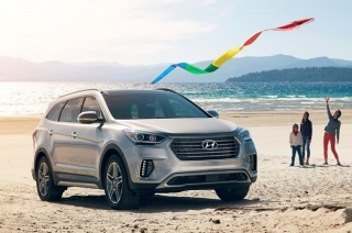 Hyundai reveals a new, face-lifted Santa Fe in the US