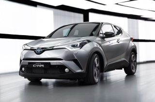 Toyota enters the subcompact crossover segment with the new C-HR