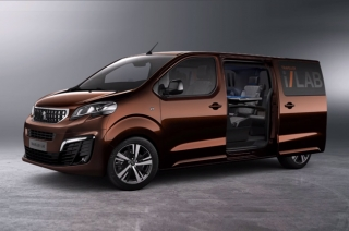 Peugeot unveils the Traveller i-Lab mobile business lounge concept
