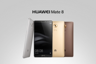 Huawei unveils its flagship smartphone, the Mate 8