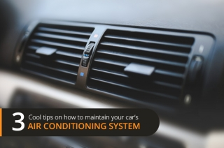 3 cool tips on how to maintain your car's air conditioning system