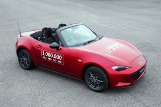 Mazda celebrates 1-millionth Miata MX-5