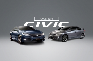 Face-off: The old vs the all-new Honda Civic