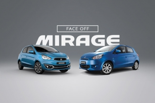 Face-off : The old vs new Mitsubishi Mirage