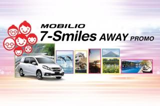 Honda Mobilio 7-Smiles Away promo