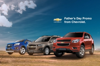 Celebrate father's day with these 0% interest promos from Chevrolet