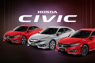 2016 Honda Civic Modulo variants