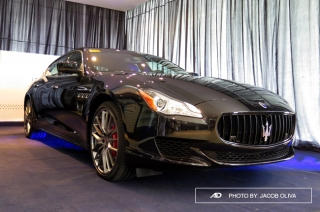 Maserati PH brings bespoke interior trims by Ermenegildo Zegna