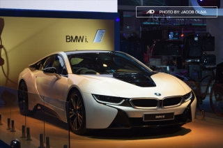 PIMS 2016: BMW turns heads with the i8