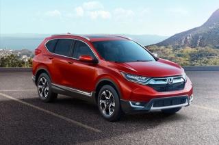 Honda unveils turbo-powered 2017 CR-V