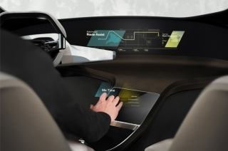BMW's HoloActive Touch turns cabin into virtual reality