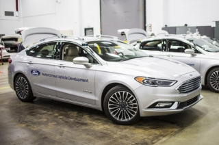 Ford's upcoming self-driving Fusion can see where your eyes can't