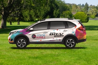Selfies with Honda BR-V can let you join Color Manila Run Year 5